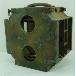 Original WWII German (TMI 35) T35 Anti-Tank Teller Mines Camouflage Carrying Case