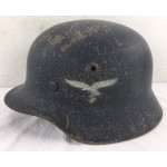 Original WWII German Luftwaffe Single Decal helmet