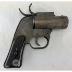 SOLD - Original U.S. WWII 37mm M8 Pyrotechnic Signal Flare Pistol by McInerny Spring and Wire Company