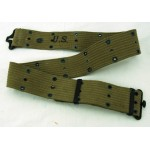 Original WWII US Army M1936 Pistol Belt - Nesco 1943 E-62