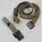 Reproduction WWII Gas Mask Canister strap