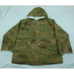 German reversible Tan water pattern/white camo parka