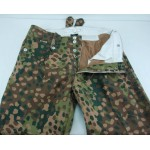 M43 style trousers (Keilhosen) 44 Dot Camouflage HBT Trousers