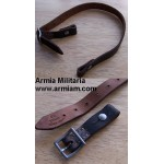 German WWII Helmet Chin Strap with Aluminum Buckle