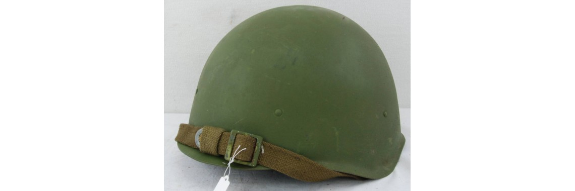 Russian WWII Model 1940 Helmet (Ssh40)