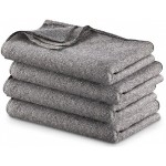 Grey Military Style Blanket