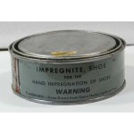 Original US WWII can of shoe/boot impregnite.